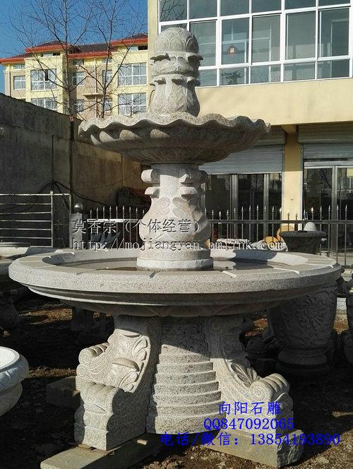 安徽五莲红石雕喷泉现货销售价格