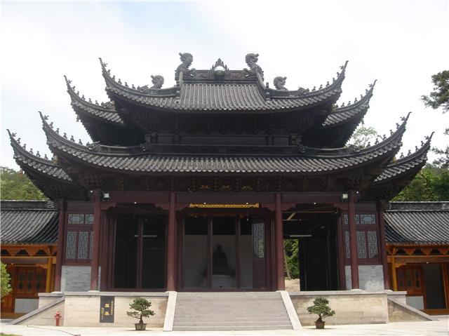 亿钢建设供应钢木结构牌坊酒店大门寺庙工程