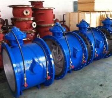 管力阀是水泵出口继老式手动控制阀,液控蝶阀,多功能水力阀与液力自动图片