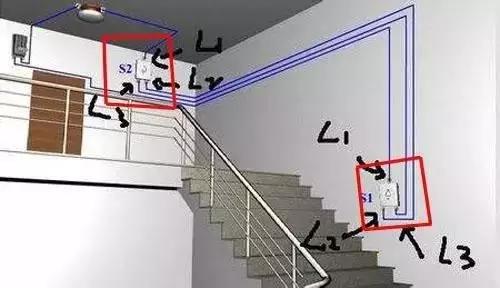 双控门接线方法