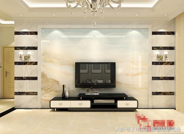 5d微晶石瓷砖背景墙,现代简约客厅电视背景墙砖,云梦天涯-微晶石
