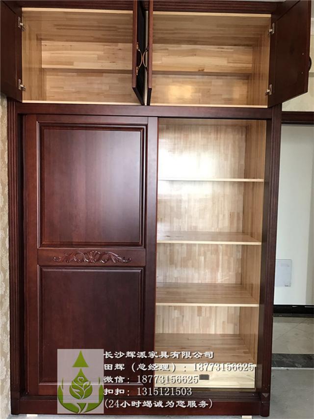 长沙原木家具定制厂整体原木间厅柜定制批发