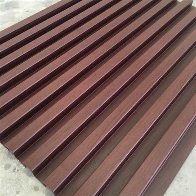 凹凸造型墙面装饰板-凹凸铝合金长城板