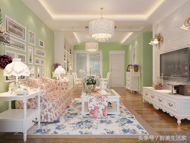 家装内墙乳胶漆颜色效果图-乳胶漆