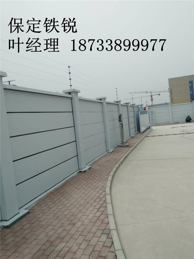 供应高强度装配式围墙,保定铁锐厂家直销图片