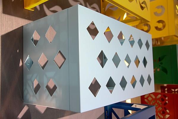 小区空调外机防护罩-铝合金空调罩厂家直销