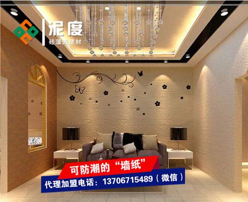 墙面硅藻泥施工多少钱一平方?江苏硅藻泥加盟多钱?