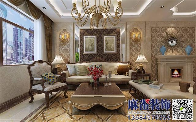 群力观江国际-110平米-简欧风格-哈尔滨麻雀装饰图片