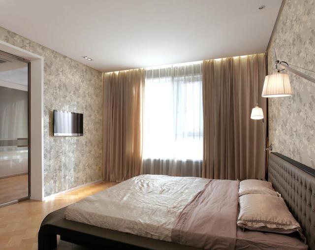 墙布卧室装修效果图