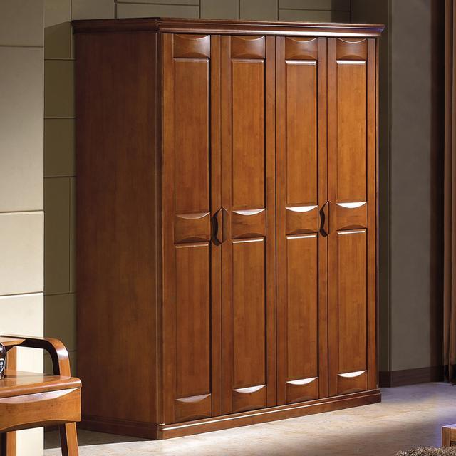 实木组合衣柜,环保收纳您的美衣-衣柜