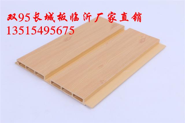 武汉生态木长城板生产;159双面浮雕板价格
