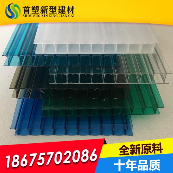 2层6mm绿色阳光板 6mm草绿阳光板 厂家直销