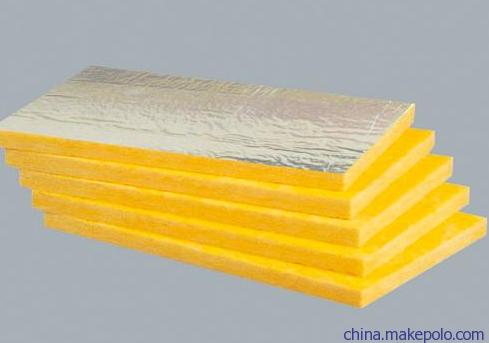 玻璃棉出厂价插丝玻璃棉板彩色玻璃棉离心玻璃棉板贴箔