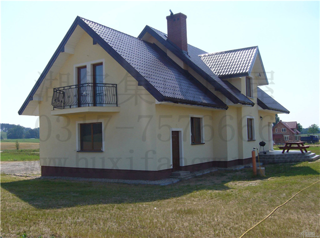轻钢结构自建房 农村住宅 装配式建筑专业建造