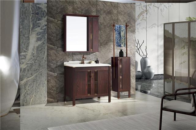 2017新中式 不锈钢浴室柜 可定制图片