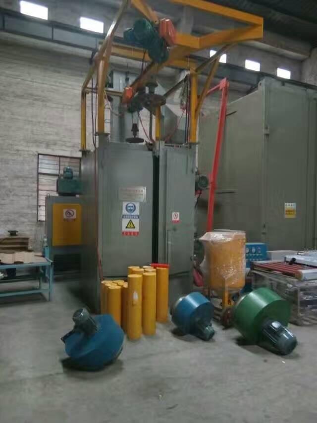 不锈钢表面处理喷砂机 红海自动打砂机 无气喷砂机