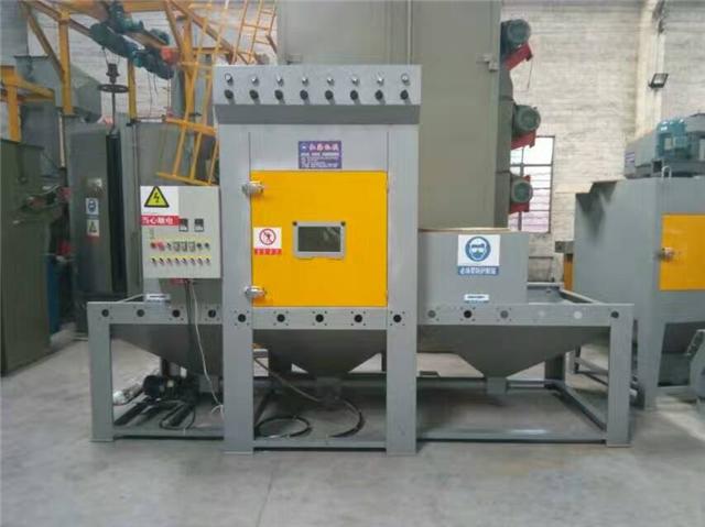 电饭锅内胆表面处理喷砂机 红海铝制品喷砂机厂家
