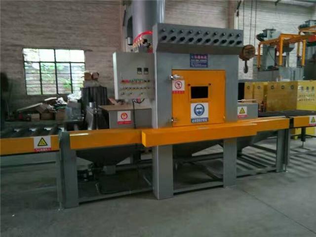 自动金属模具除锈机厂家 红海自动喷砂机厂家