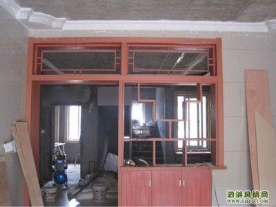 厨房隔断怎么做介绍-木工做的厨房隔断造型