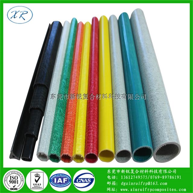 玻璃纤维管 厂家专业定制空心玻璃钢管材价格优惠 玻璃纤维定做