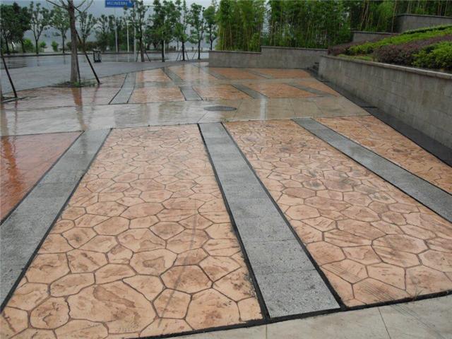 贵州压花地坪发展方向