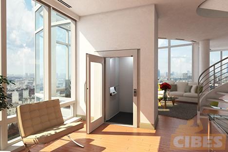 Cibes A4000 小型电梯安装于上海