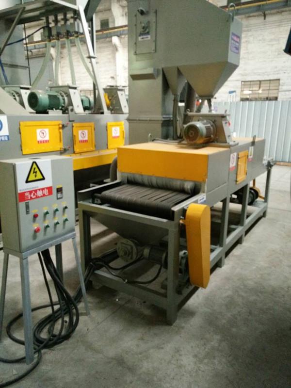 建筑钢结构除锈专用抛丸机 红海通过式抛丸机厂家