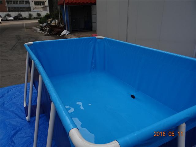 厂家批发定制pvc游泳池高频熔接绝不漏水养殖鱼池