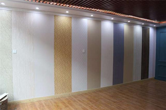重庆市内美式风格--餐厅 竹木纤维集成墙板 环保装修