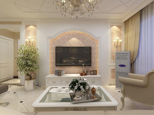 在现今我们的家庭装修中,很多家庭都是采用的简欧风格。简欧风格不仅有欧式风格的古典味道,而且有简约风格的时尚大气。今天小编要向大家分享的是简欧风格下的欧式电视背景墙造型,一起来看看吧。现在的居室普遍的都是小居室居多,小户型居多。那么对于小户型的住户来说,家里的每一个地方放置什么东西都变得尤为讲究,力求用最小的位置摆放家具来达到最满意的效果。