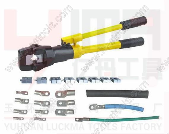 【导线液压钳,电动液压钳,液压压接钳yqk-400】品牌图片