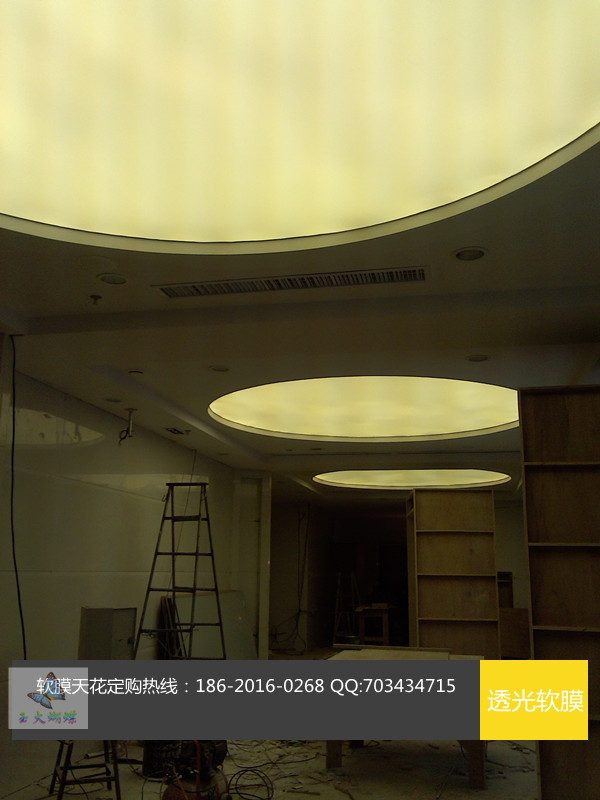 供应软膜吊顶灯箱 弹力布软膜喷绘