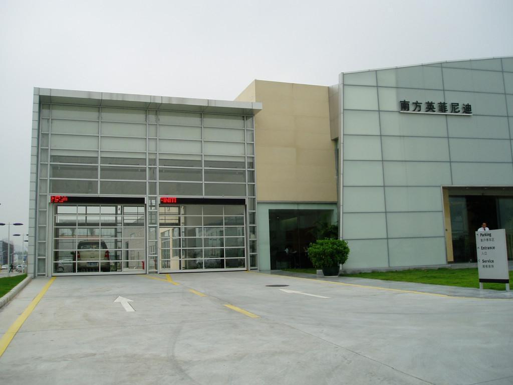 供应四川4s店翻板提升门