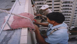 供應中山防水公司伸縮縫樓面裂縫補漏外墻清潔
