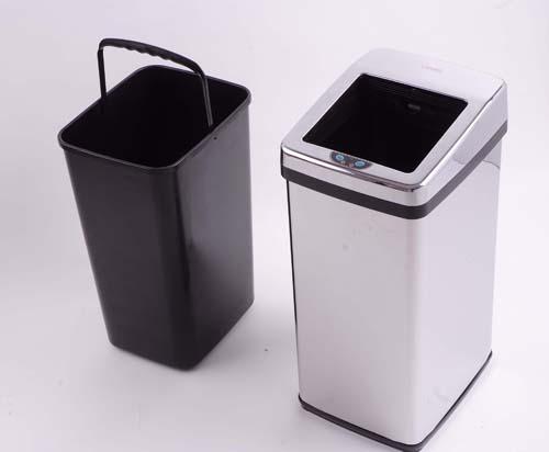 供应扇叶方形感应垃圾桶