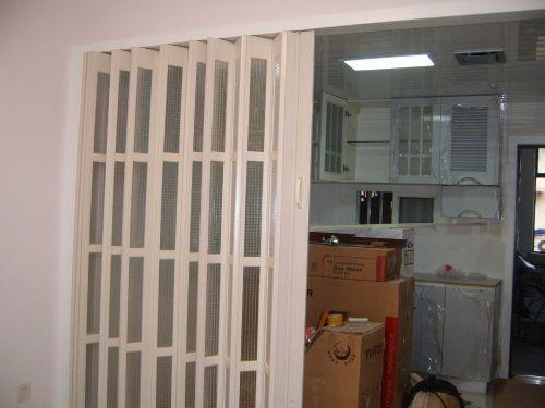 pvc折叠门,厨房图片