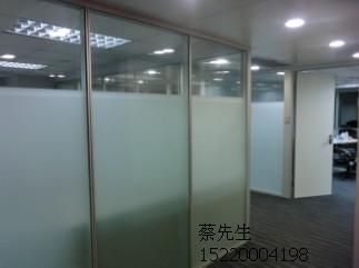 厦门玻璃隔断 玻璃高隔墙厂家