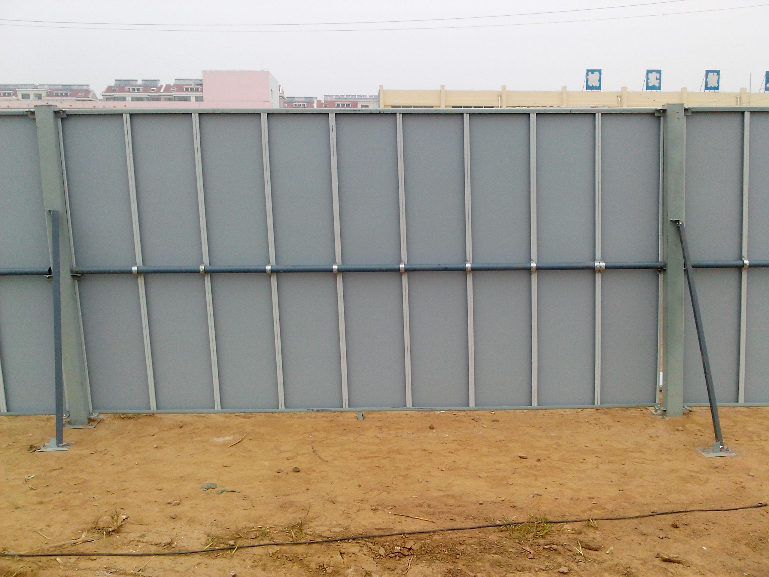 工地围挡瓦型号_腾威彩钢批发工地建筑围挡板图片腾威彩钢批