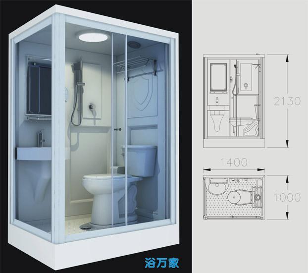 天津卫浴卫生间