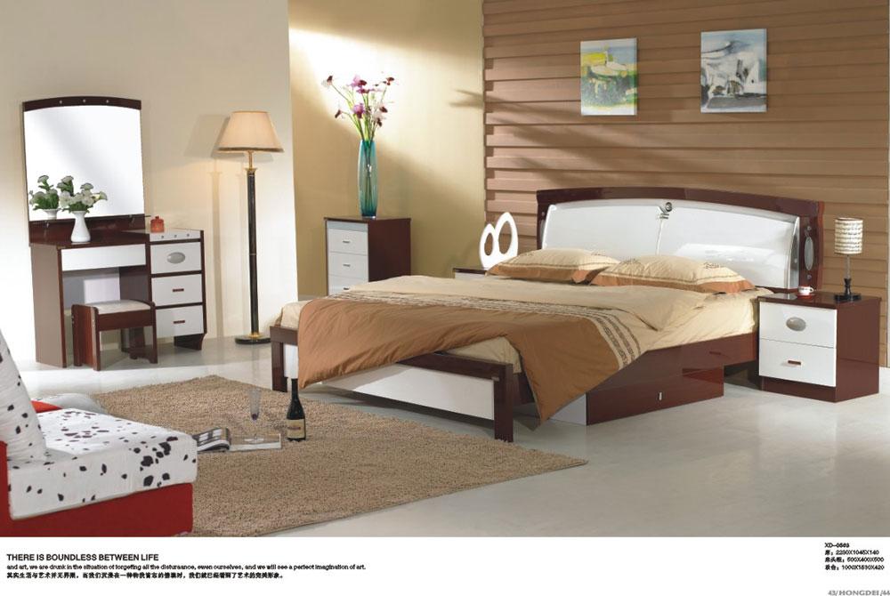 床墙柜一体效果图