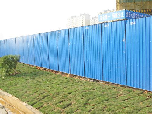 工地围挡瓦型号_广东直销各种工地临时围挡市政围挡活动围墙