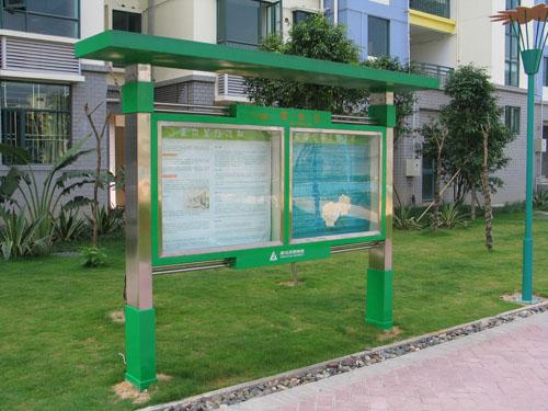 云南不锈钢公交车站雨篷宣传栏广告牌