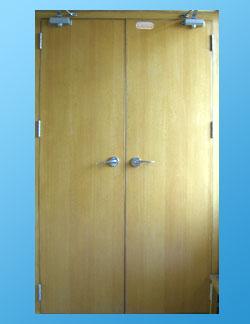 供应木质防火套装门