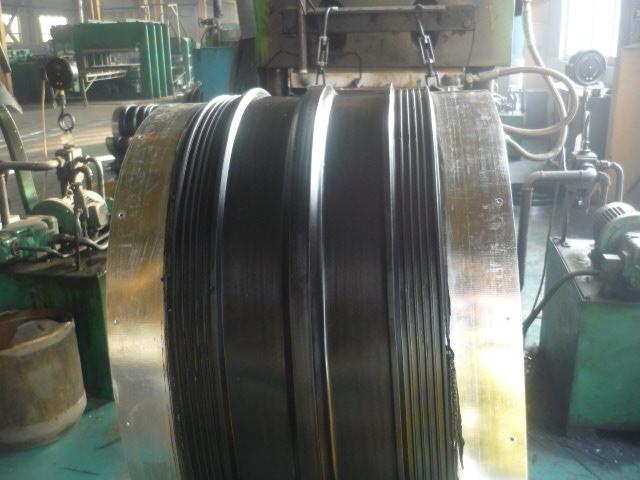 供应中埋式钢边橡胶止水带350*10