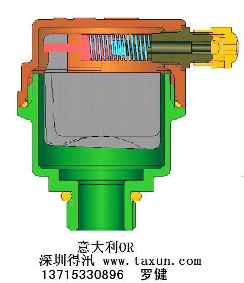单口排气阀-【效果图,产品图,型号图,工程图】-中国图片