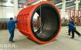 斯里兰卡老客户来我厂采购水泥制管机械设备