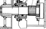 水陆挖掘机行走机构各轴结构是怎样的?