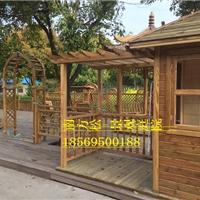 菠萝格柳桉木木制牌坊凉亭围栏木栈道价格