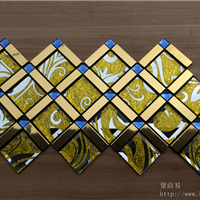 安阳明欣铝塑马赛克厂 工厂直销各种铝塑马赛克