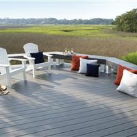 宁波生态木塑木地板WPC环保再生木PVC长城板